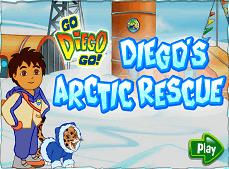 Diego la Polul Nord
