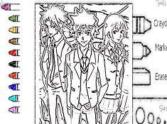Digimon Adventure Tri de Colorat