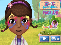 Doctorita Plusica Picturi pe Fata