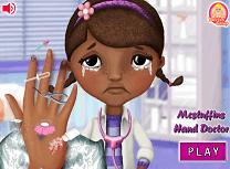 Doctorita Plusica la Doctorul de Mana