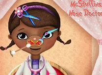 Doctorita Plusica la Doctorul de Nas
