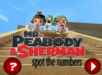 Domnul Peabody si Sherman Numere Ascunse
