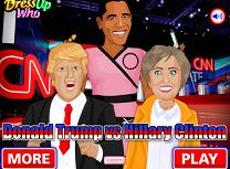 Donald Trump Contra Hillary Clinton