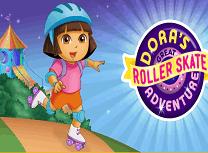 Dora Aventura cu Rolele