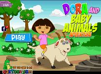 Dora Aventura cu Tapul