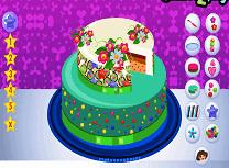 Dora Decoreaza Tortul