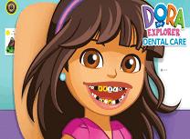 Dora Exploratoarea la Dentist