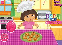 Dora Face Biscuiti