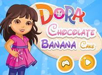 Dora Gateste Prajitura cu Banane