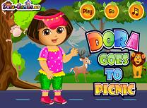Dora Merge la Picnic