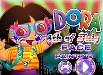 Dora Picturi pe Fata de 4 Iulie