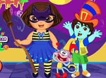 Dora Pregatiri de Halloween