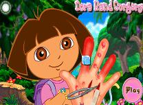 Dora Ranita la Mana