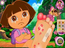 Dora Ranita la Picior