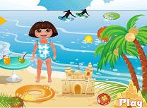 Dora Zi la Plaja