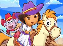 Dora in Aventura cu Poneiul