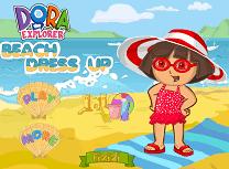 Dora pe Plaja