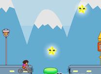 Dora se Plimba cu Bicicleta