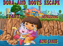 Dora si Boots Evadare