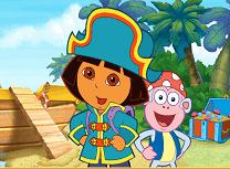Dora si Comoara Piratilor