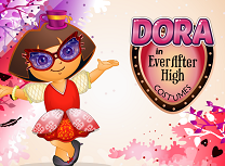 Dora si Costumele Ever After High