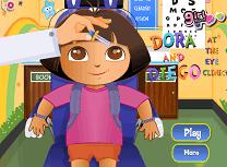 Dora si Diego la Oftalmolog
