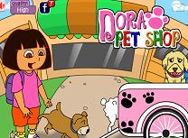 Dora si Magazinul de Animale