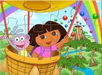 Dora si Maimuta Puzzle