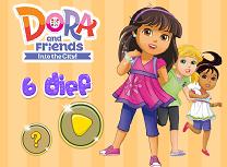 Dora si Prietenele Diferente