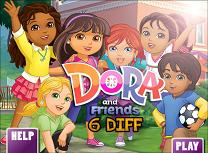 Dora si Prietenii 6 Diferente