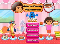 Dora si Restaurantul Familiei