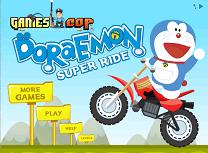 Doraemon cu Motocicleta