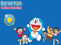 Doraemon de Colorat Online