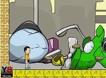 Doraemon si Cainele Cel Rau