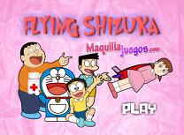Doraemon si Shizuka Zburatoare