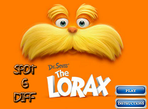 Dr. Seuss The Lorax 6 Diferente