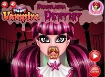 Draculaura Vampir la Dentist