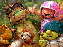 Dragonul Digby Puzzle