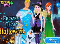Echipa Frozen de Halloween