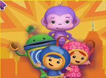 Echipa Umizoomi si Maimuta Violet