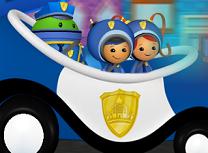 Echipa Umizoomi si Masina de Politie