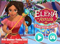 Elena din Avalor Chestionar