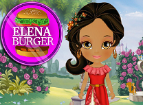 Elena din Avalor Gateste Burger