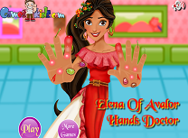 Elena din Avalor Ranita la Mana