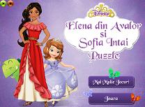 Elena din Avalor si Sofia Puzzle