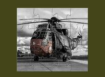 Elicoptere Militare Puzzle