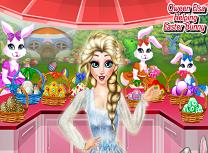 Elsa Ajuta Iepurasul de Paste