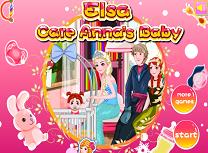 Elsa Are Grija de Bebelusul Annei