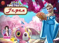 Elsa Calatorie in Timp Japonia