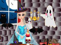 Elsa Casa de Halloween